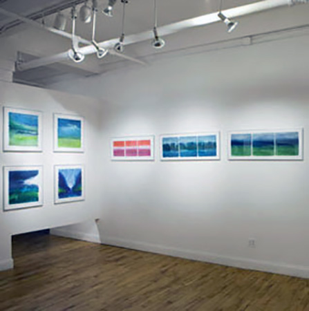 Meera Thompson exhibition at Atlantic Gallery NYC